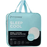 Minijumbuk Sleep Cool Mattress Protector, King Single Bed Size