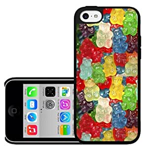 Covered in Colorful Gummy Bears Candy Favorite Snack Hard Snap on Phone Case (iPhone 5c)