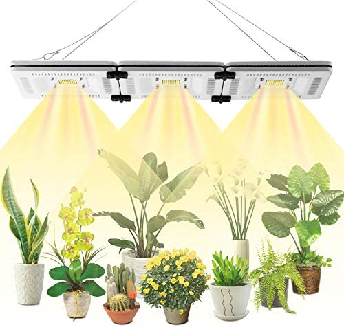 FECiDA 150W LED Grow Light for Grow Tent Professional Sunlike Full Spectrum, 750W CFL HPS CMH Grow Lights Equivalent, Waterproof LED Plant Grow Light for Seedlings, Growing, Flowering, Fruiting