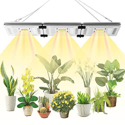 FECiDA 150W LED Grow Light Professional Sunlike Full Spectrum, 750W CFL HPS CMH Grow Lights Equivalent, Waterproof LED…