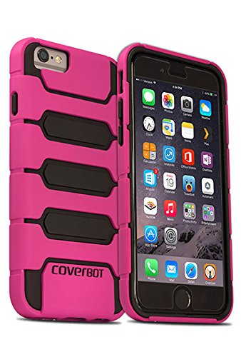 iPhone 6 Case, CoverBot iPhone 6 Skellter Slim Case HOT PINK (Compatible with 4.7 iPhone 6)