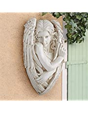 Design Toscano Tristan The Timid Angel Plaque