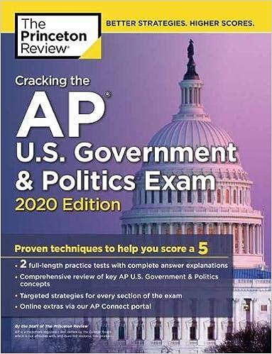 Descargar Libros En Ebook Cracking The Ap U.s. Government & Politics Exam, 2020 Edition PDF Español
