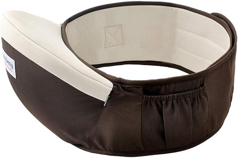 Baby Hip Waist Belt Adjustable Lightweight Hip Seat Safe Support Hip Carrier Cotton Ergonomic Waist Hip Stool Comfortable Pocket Hip Seat Belt with Pocket