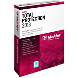 Software : McAfeeTotal Protection 3PCs 2013 (Platform: Windows 8)