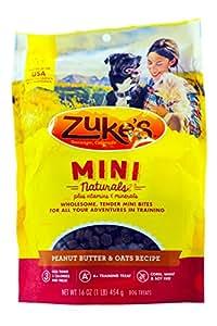 Zuke's Mini Naturals Dog Treats, Fresh Peanut Butter Formula, Pack of 1