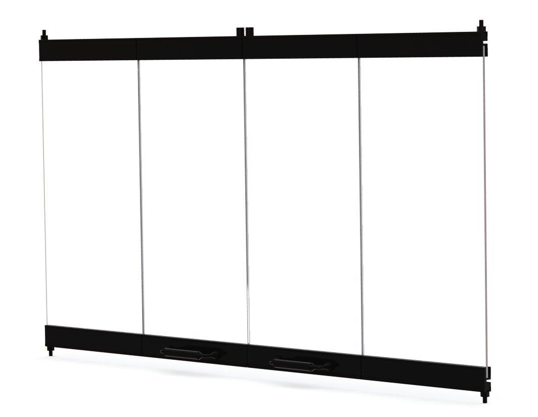 Amazon 36 Fireplace Glass Door Set To Fit Heatilator Unit