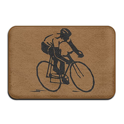 Clipart Cycle Race Indoor Outdoor Entrance Rug Non Slip Bath Mat Doormat Rugs For Home