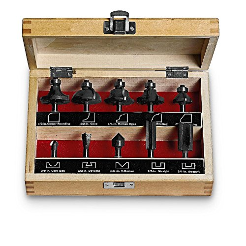 Craftsman 10 pc. Router Bit Set