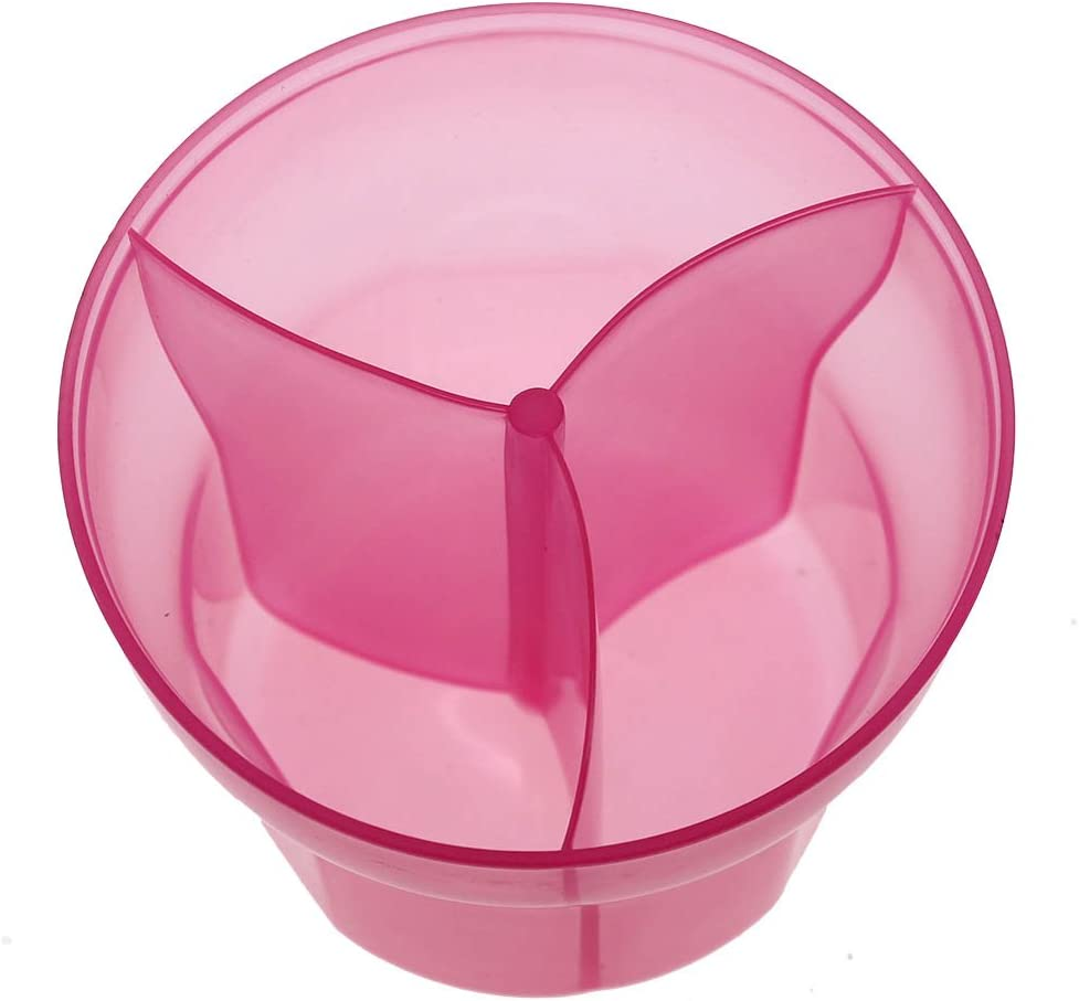 ideal para viaje-rosa GGG Dispensador de leche en polvo para beb/é infantil 3 tomas separados Dosificador de leche en polvo de la Alimentaci/ón la caja de almacenaje de caramelo