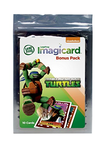 LeapFrog Teenage Mutant Ninja Turtles Imagicard Learning Game Booster Pack (Leap Pad Games Ninja Turtle)