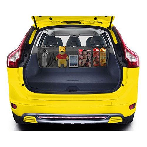 Oetoe BackSeat/Trunk Organizer - 5 Pocket Auto Interior, Perfect Car Organizer, Trunk Organizer, Backseat Organizer, Multipurpose Cargo Accessories Organizer, Back Seat Storage Organizer