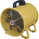 Q Standard Utility Blower - 16in., 1 HP, 2,950 CFM, Model# 39017