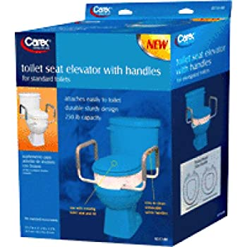 Amazon Com Carex Toilet Seat Elevator With Handles For