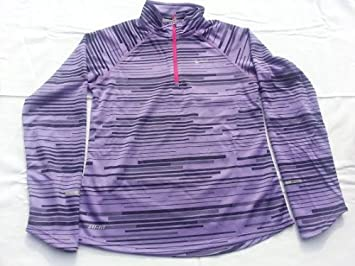 96b94dc7b697 Image Unavailable. Image not available for. Colour  Nike Element Jacquard  Half-zip Girls  Running ...
