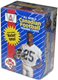 All World Canadian Football Cards, 1991 CFL 110 Card Set in Box