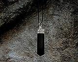 Raw Black Tourmaline Crystal Healing Pendant