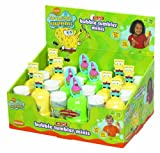 : Little Kids SpongeBob Square Pants No-Spill Mini Bubble Tumblers 12-Piece Party Pack by Little Kids
