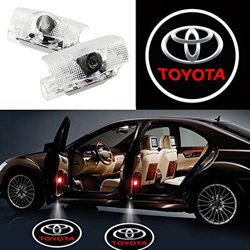 Auto Sport Car Door Logo Shadow Projector LED welcome Light (toyota)