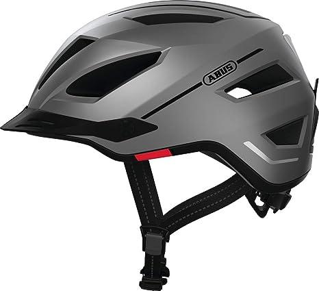 Abus Unisex - Casco de Bicicleta para Adultos Pedelec 2.0 Silver ...