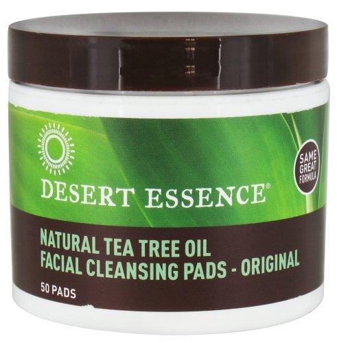 - Desert Essence Tea Tree Oil Face Cleansing Pad