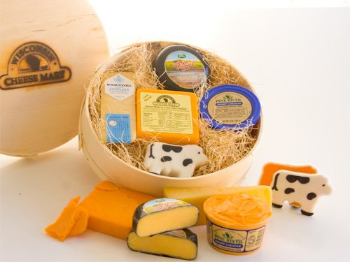 Cheese Box Sampler Gift Box