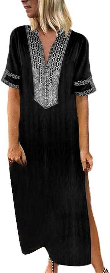 Linen wrap dress floral cotton wrap dress Silk summer high low boho Linen shift kaftan long summer 80s prom dress Graduation dress