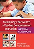 Maximizing Effectiveness of Reading Comprehension Instruction in Diverse Classrooms