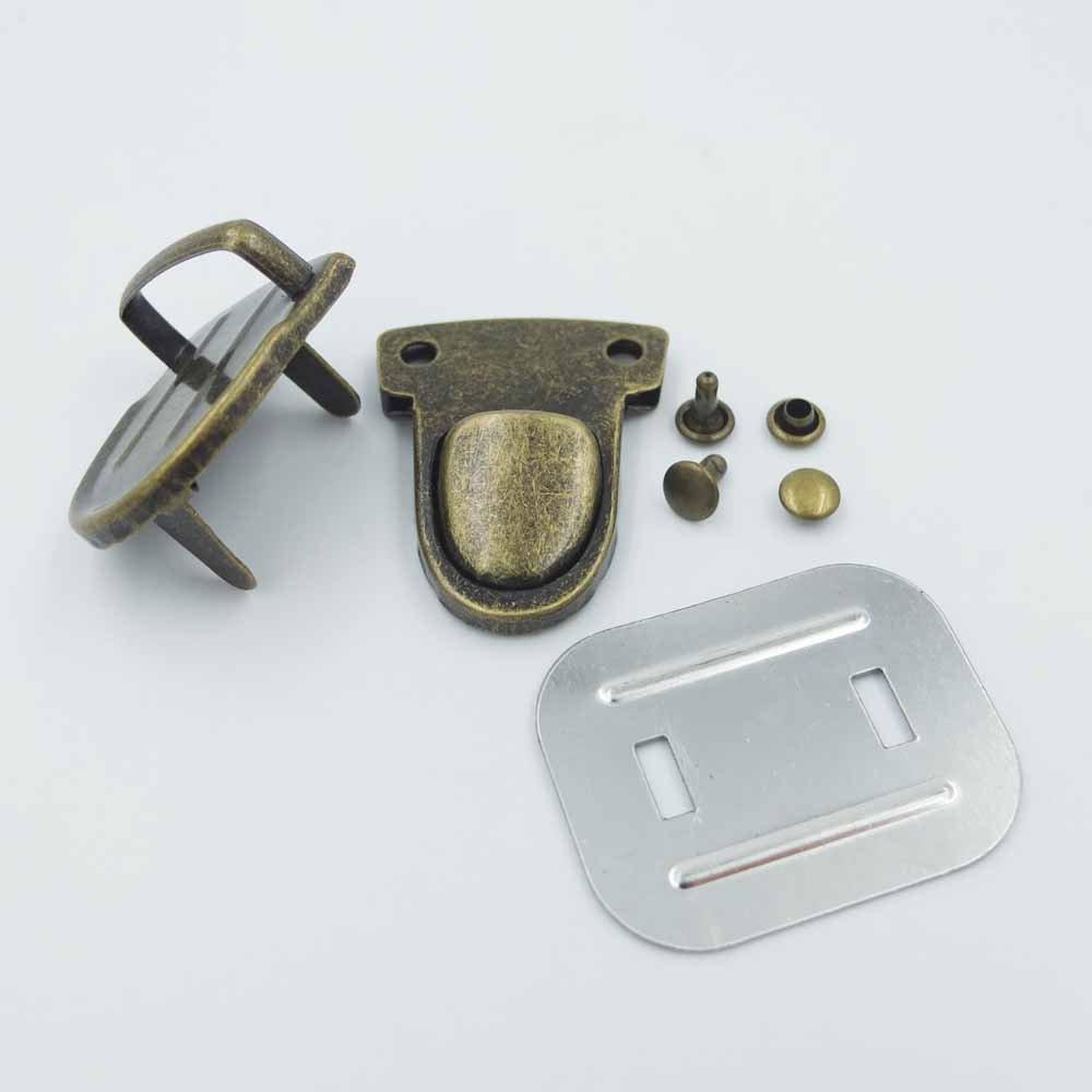 8 piezas 30 mm x 40 mm cierre Catch Tuck cierre Lock para funda de piel bolsa bolso monedero 3 opciones de color: Amazon.es: Hogar