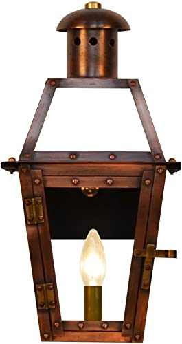 The CopperSmith Georgetown 15.5 1 Lite Electric Lantern