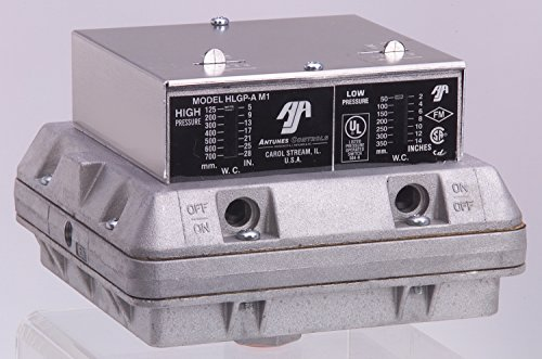 Antunes Controls 804111702 Model HLGP-A, Double Gas Switch, 5-28''wc by Antunes Controls