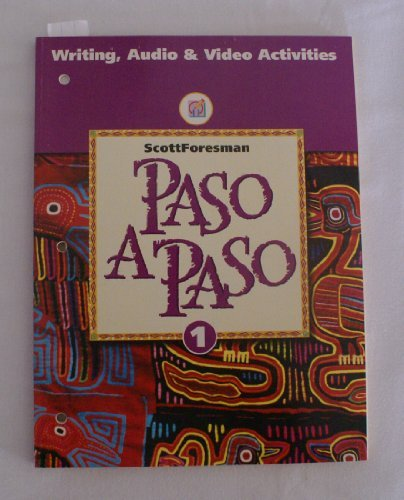 Paso a Paso: Writing, Audio & Video Activities, Level 1