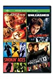 DVD : Jet Li's Fearless / Unleashed / Smokin' Aces / Assault on Precinct 13 Four Feature Films