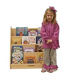 Kids\' Station Preschool Book Display, Fully Assembled