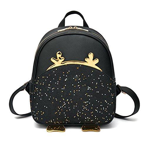 multifonctionnel de cuir femmes 24 dos en mode décontracté main sac sac 5 à 28cm Sac PU de 12 souple à wvE5q8q