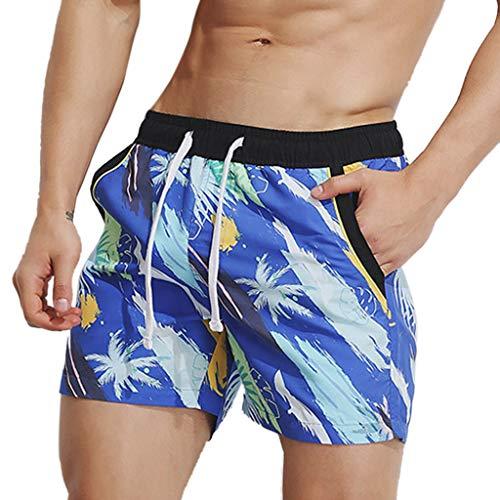 Summer Surf De Court Sport Plage Bermuda Short Pantacourt Respirant Rapide Luoluoluo Hawaien Multicolore Sporthose Shorts Pantalons BxEnqgWa