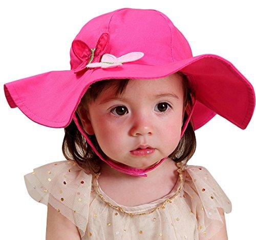 happy-cherry-baby-girl-kid-child-toddler-sun-bucket-hat-cap-with-chin-strap-0-6m