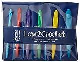 Love2Crochet Interchangeable Crochet Hook Set, USK