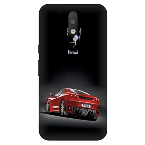 brand new 1959e 87f6d Samsung Galaxy J7 Pro Red Ferrari Printed Hard: Amazon.in: Electronics
