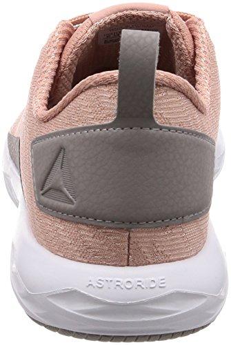 Reebok Astroride Walk, Chaussures de Randonnée Basses Femme, Noir/Blanc Rose (Chalk Pink/Powder/White 000)