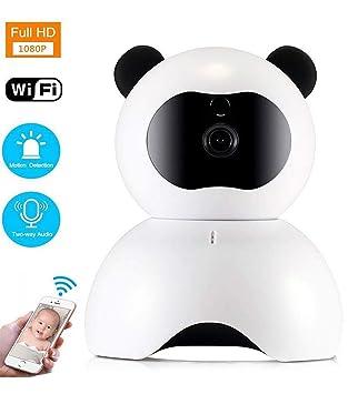 ZLQF IP Cámara WiFi,Cámara IP Cámaras De Vigilancia WiFi Interior HD 1080P P2P IR