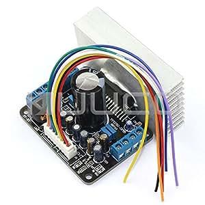 ARBUYSHOP TDA7850 Amplificador de coches de control ACC 4 canales amplificador digital de alta fidelidad 12V DC Junta amplificador audio estéreo
