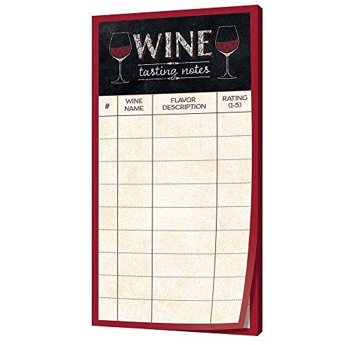 Creative Converting Sip Sip Hooray Wine Tasting Score Sheet (90 Wine Tasting Sheets)