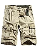 #6: WenVen Men's Cotton Twill Cargo Shorts Outdoor Wear Lightweight