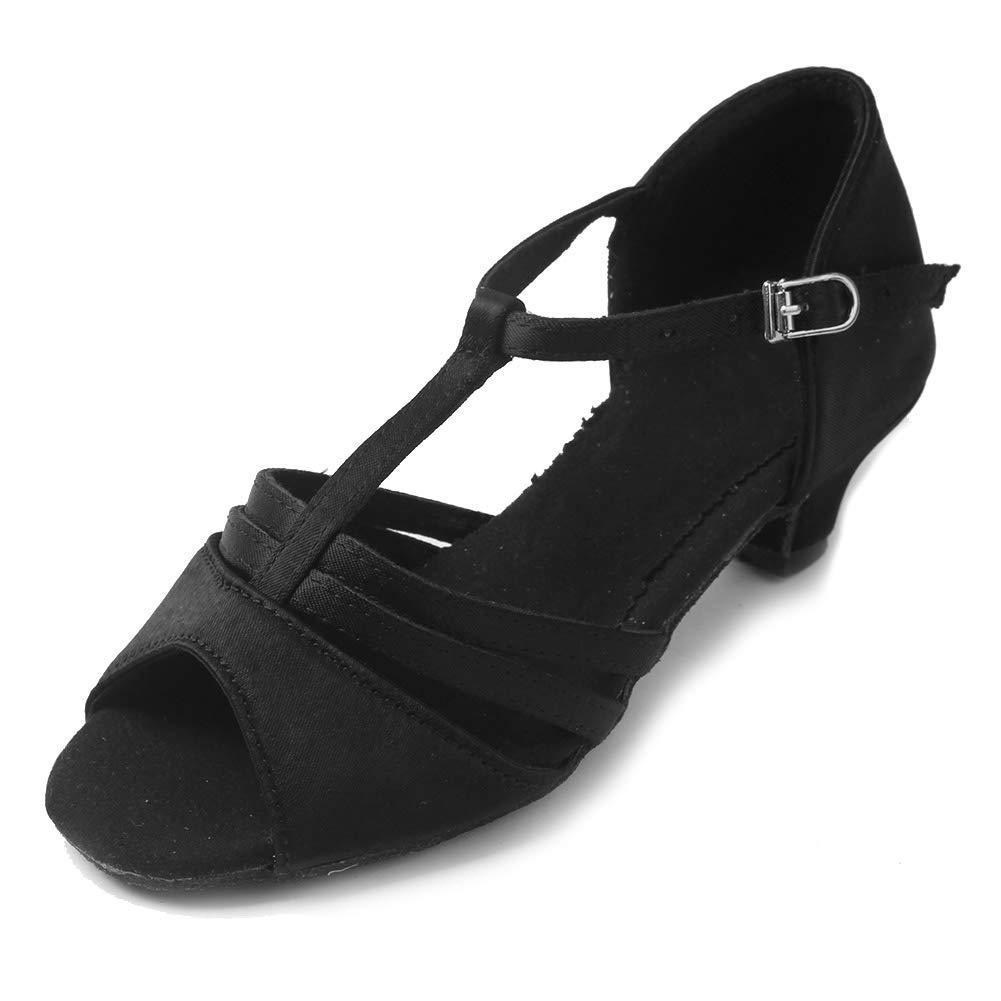 SWDZM Chaussures de Danse Femme Standard Latin Chaussures Model WHXGG