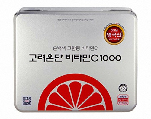 Korea EunDan Vitamin C 1000mg 1Box (480 Tablets) Health Supplement by Korea EunDan