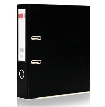 Archivadores de palanca, caja de oficina con cerradura para dedos para papelería, papel,