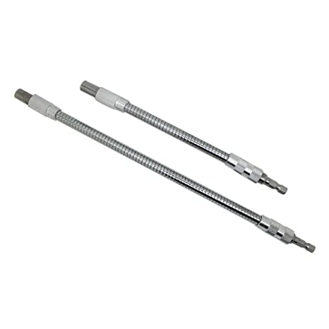 Amazon.com: autotoolhome 2pc Hex extensión Eje Flexible para ...