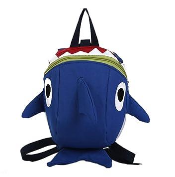 US Kids Baby Safety Harness Backpack Leash Toddler Anti-lost Dinosaur Shark Bag