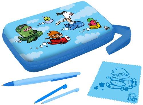(iMP Funkit5 Aero 5-in-1 XL Accessory Kit - Blue (3DS XL / DSi XL))